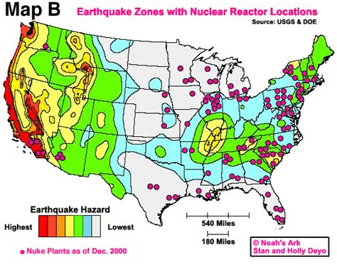 nuclear power plants in usa map map of potential nuclear targets in america and canada