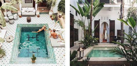 patios exclusivos  piscina elegantes  exoticos