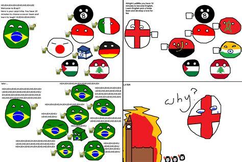 Country Ball Memes - polandball map