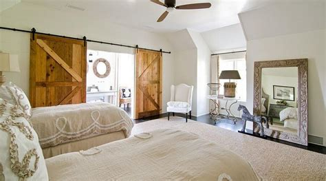 cool bedroom doors 10 cool bedrooms with rustic sliding barn doors https