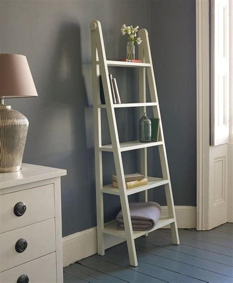 1000 ideas about white ladder shelf on ladder