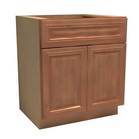 24 kitchen cabinet hton bay madison assembled 24x34 5x24 in base cabinet with soft close drawer in medium oak