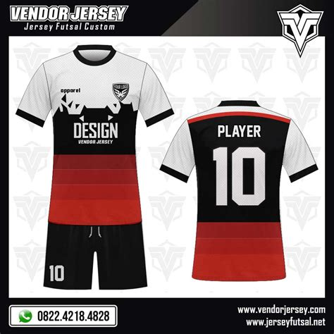 desain baju futsal keren berkerah desain baju futsal il meglio vendor jersey futsal