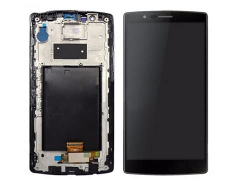 Lcd Touchscreen Frame Lg Optimus G4 Original lg optimus g4 h818 g500l lcd touch screen digitizer black with frame us cell phone parts