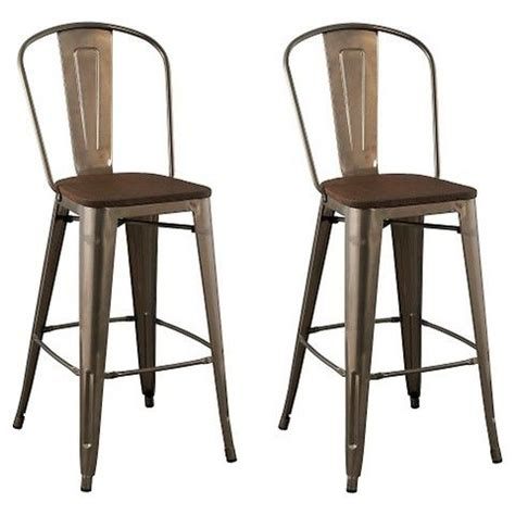 Kitchen Island Chairs With Backs by Carlisle 29 Set Of Bar Stools With Backs And Chairs