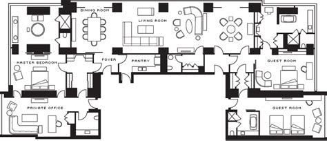 four seasons toronto floor plans royal suite with toronto city view luxury hotel four