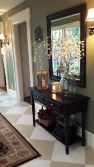 Entry Way Table Decor by Hometalk 4 39 Foyer Painted Floor Makeover