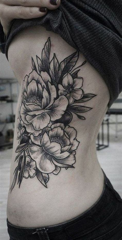 rose rib tattoo best 25 rib tattoos ideas on future