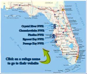florida national wildlife refuges map river national wildlife refuge chassahowitzka