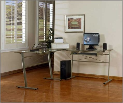 L Shaped Studio Desk Desk Home Decorating Ideas L Shaped Studio Desk