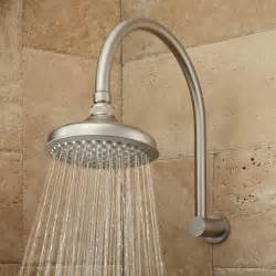 Bath Shower Head Roux Rainfall Shower Head With Modern Arm Bathroom