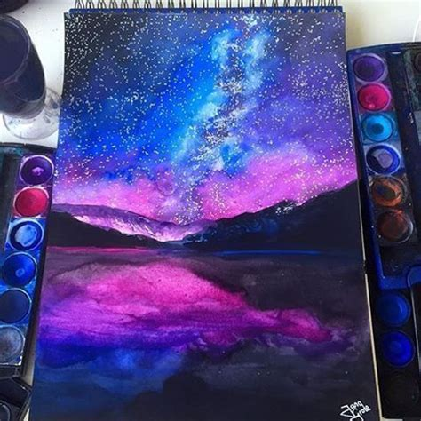 25 best ideas about galaxy painting on galaxy