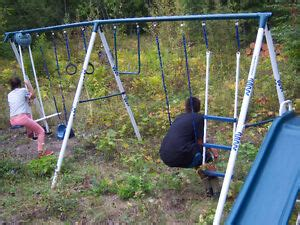 Hedstrom Swing Set by Swing Set Kijiji Free Classifieds In Kamloops Find A