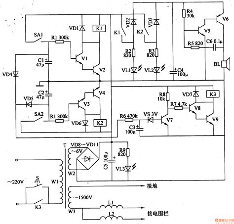 design brief for an electric circuit electric fence circuit diagram diy circuit and
