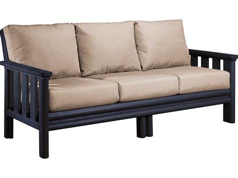 plastic loveseat c r plastic stratford recycled plastic sofa ds143