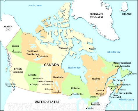 map of canada with major cities canada map major cities nieuwemerletcollege