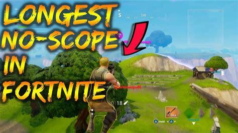fortnite history sniper no scope in fortnite history to win the