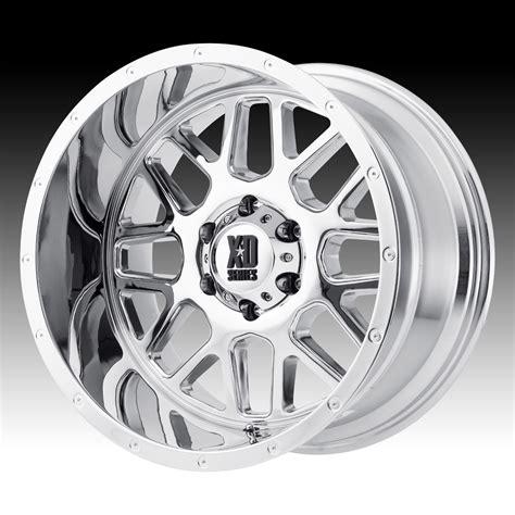 chrome xd wheels kmc xd series xd820 grenade chrome custom wheels rims xd