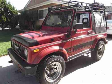 Suzuki Samurai Soft Doors Purchase Used Suzuki Samurai 4wd Soft Top All Original
