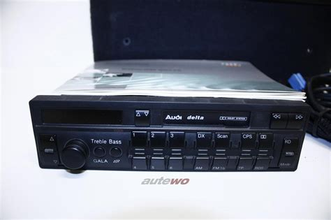 Audi Original Radio by 8a0057192 Audi 80 B4 Coupe Cabrio Typ 89 Original Radio