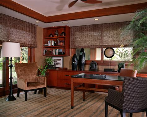 tropical office furniture ethnic tropical tropical home office hawaii by