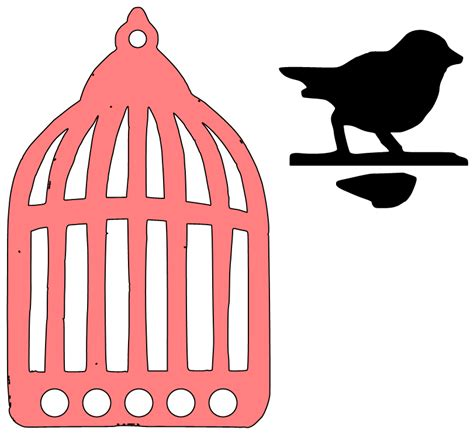 file theatre of pompey 3d cut out png paper bird cage template images