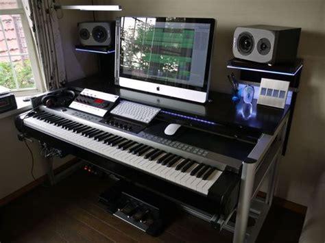 Studio Desk Setup by Best 25 Recording Studio Desk Ideas On