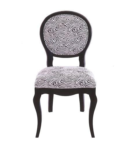 chaise zebre chaise zebre top chaise chambord with chaise zebre