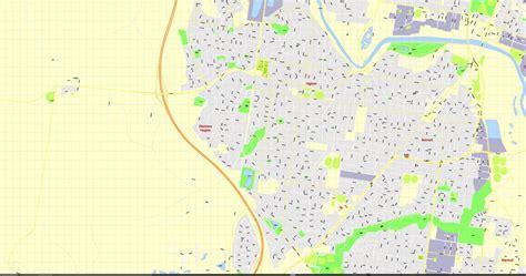 printable map geelong printable map geelond australia v 14 11 g view level 17 ai