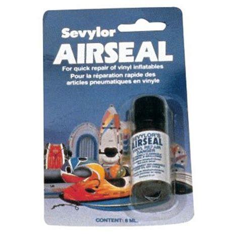 inflatable boat hole repair sevylor air seal vinyl repair inflatable boat