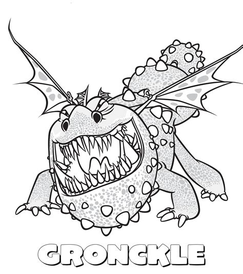 scauldron dragon coloring page how to train your dragon colouring pages kids coloring