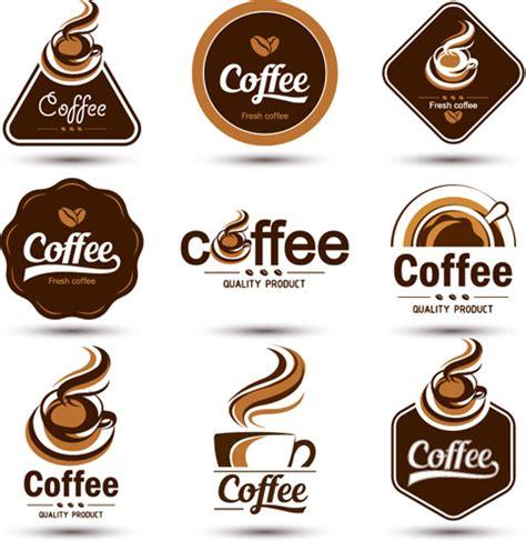 Original Design Coffee Labels Vector Free Vector In Encapsulated Postscript Eps Eps Vector Coffee Label Design Template