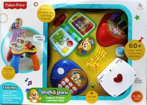 Fisher Price Laugh And Learn Puppy Table by Fisher Price Laugh N Learn Puppy And Pals Learning Table