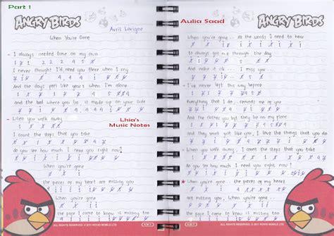 download mp3 lagu barat avril blog not angka dan not balok not angka lagu when you are