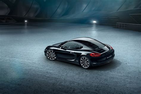 cayman porsche black porsche black edition cayman will hit market in 2016