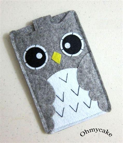 Owl Vintage Tas Lucu best 25 felt ideas on felt phone cover
