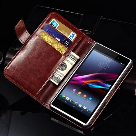 Casing Hp Xperia Z5 Totol Cover Leather Kulit casing dompet kulit for sony xperia z1 indotechno