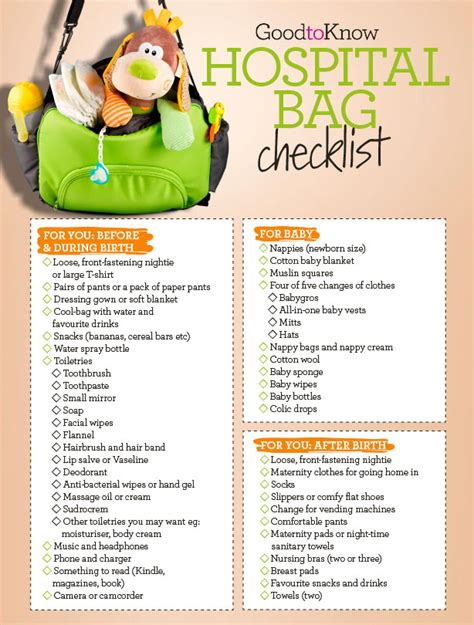 what to pack in hospital bag for c section your hospital bag checklist everything you ll need for