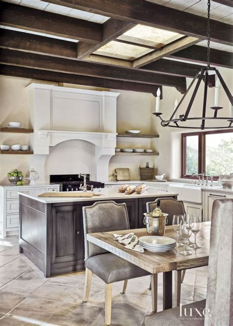 french kitchen cabinets kitchen mediterranean with built best 25 exposed beams ideas that you will like on