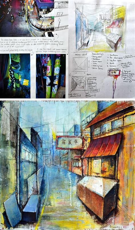 art design edexcel a gcse art coursework sense of place pinterest