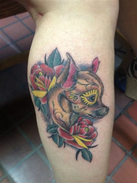 chihuahua tattoo chihuahua tattoos