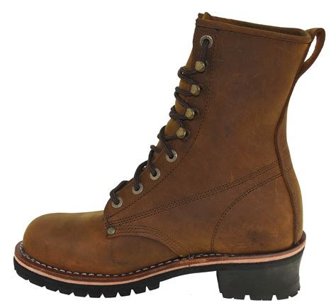 mens dickies boots dickies s logger work boots steel toe chaser style