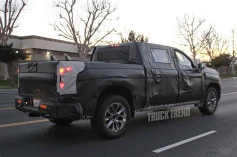 2019 chevy trucks spied 2019 chevrolet silverado 1500 in la la land
