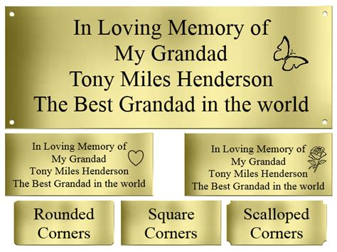 bench memorial plaques memorial plaques memorial plaque plaque engraving engraved