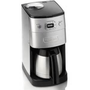 Cuisinart Coffee Grinder Maker Cuisinart Dgb650bcu Grind Amp Brew Automatic Coffee Maker