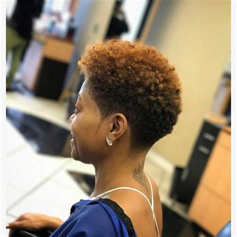 blow out on natural short black tapered best 25 tapered natural hairstyles ideas on pinterest