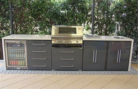 outdoor bbq kitchen cabinets modern outdoor bbq designs eleganz perspex 174 doors in