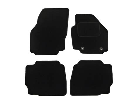 Fitted Car Floor Mats by Ford Mondeo Floor Mats 4pc Tailored Fitted Black Carpet