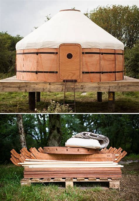 Backyard Yurt Kit Yurt Kits Wood Canvas And Yurts On