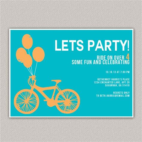 bicycle birthday card template 87 best images about bike themed birthday on